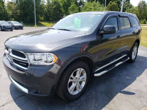 2011 Dodge Durango for sale at STRUTHER'S AUTO MALL in Austintown OH