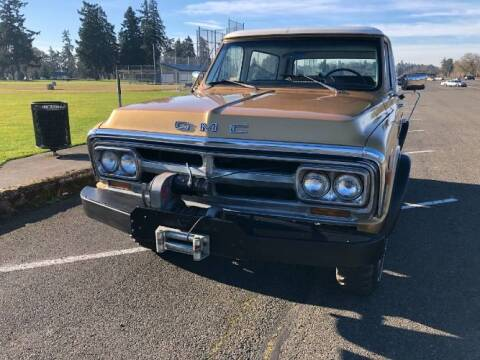 1970 GMC Jimmy for sale at Classic Car Deals in Cadillac MI