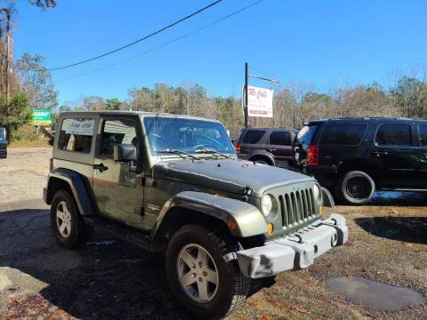 2007 Jeep Wrangler for sale at Mc Calls Auto Sales in Brewton AL