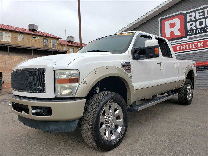 2010 Ford F-250 Super Duty for sale at Red Rock Auto Sales in Saint George UT