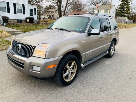 2008 Mercury Mountaineer for sale at Via Roma Auto Sales in Columbus OH
