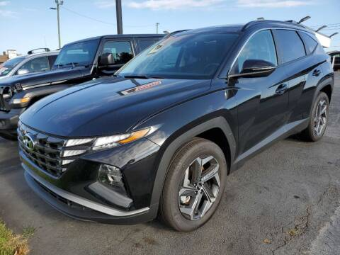 2022 Hyundai Tucson Hybrid for sale at THE TRAIN AUTO SALES & RENTALS in Taylors SC