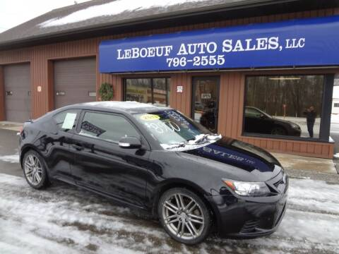 2013 Scion tC for sale at LeBoeuf Auto Sales in Waterford PA