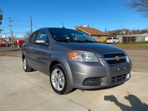 2010 Chevrolet Aveo for sale at Dalton George Automotive in Marietta OH
