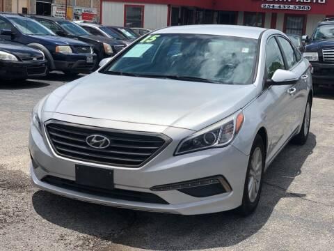 2015 Hyundai Sonata for sale at K Town Auto in Killeen TX