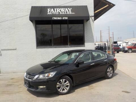 2013 Honda Accord for sale at FAIRWAY AUTO SALES, INC. in Melrose Park IL