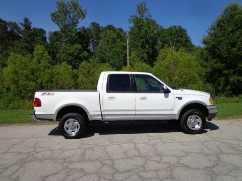 2001 Ford F-150 for sale at CAROLINA CLASSIC AUTOS in Fort Lawn SC