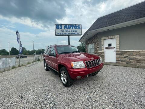 2002 Jeep Grand Cherokee for sale at 83 Autos in York PA