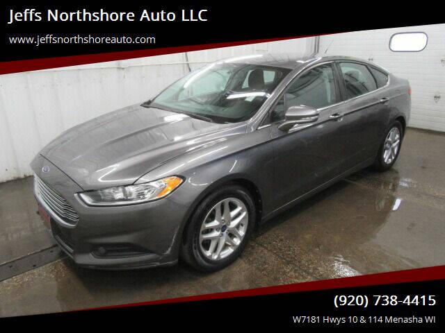 2013 Ford Fusion for sale at Jeffs Northshore Auto LLC in Menasha WI