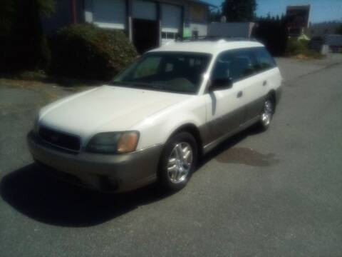 2004 Subaru Outback for sale at Payless Car & Truck Sales in Mount Vernon WA