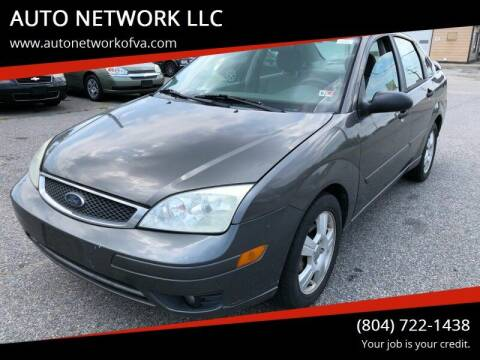 2005 Ford Focus for sale at AUTO NETWORK LLC in Petersburg VA