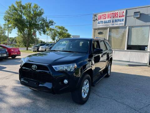2018 Toyota 4Runner for sale at United Motors LLC in Saint Francis WI