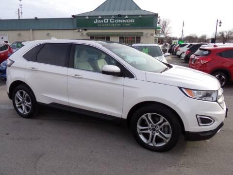 2016 Ford Edge for sale at Jim O'Connor Select Auto in Oconomowoc WI