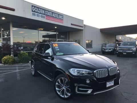 2015 BMW X5 for sale at Golden State Auto Inc. in Rancho Cordova CA