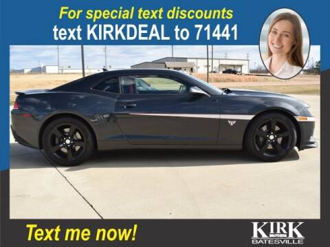 2015 Chevrolet Camaro for sale at Kirk Brothers Batesville in Batesville MS