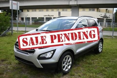2019 Ford EcoSport for sale at STS Automotive - Miami, FL in Miami FL