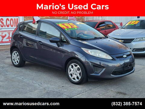 2012 Ford Fiesta for sale at Mario's Used Cars - South Houston Location in South Houston TX