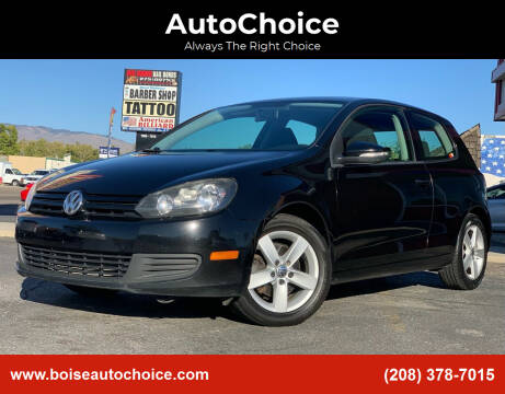 2012 Volkswagen Golf for sale at AutoChoice in Boise ID