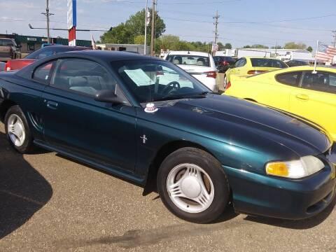 1995 Ford Mustang for sale at L & J Motors in Mandan ND