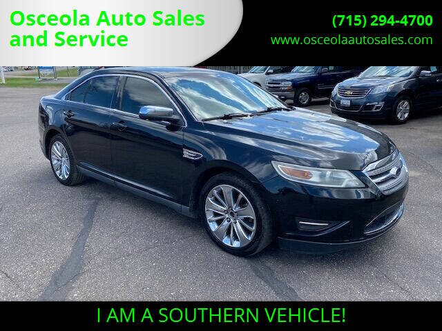 2010 Ford Taurus for sale at Osceola Auto Sales and Service in Osceola WI