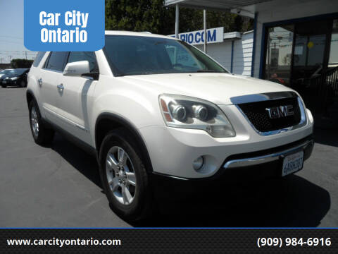 2008 GMC Acadia for sale at Car City Ontario in Ontario CA