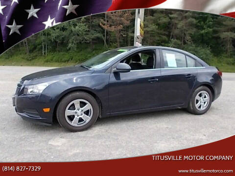 2014 Chevrolet Cruze for sale at Titusville Motor Company in Titusville PA