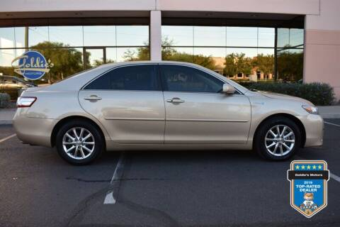 2011 Toyota Camry Hybrid for sale at GOLDIES MOTORS in Phoenix AZ