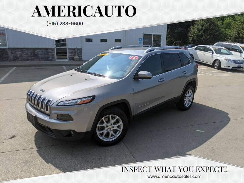 2015 Jeep Cherokee for sale at AmericAuto in Des Moines IA
