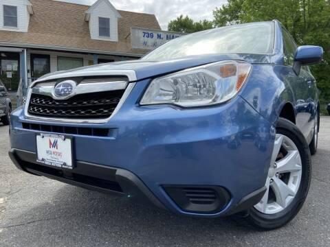 2015 Subaru Forester for sale at Mega Motors in West Bridgewater MA