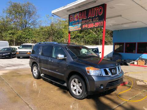 2013 Nissan Armada for sale at Global Auto Sales and Service in Nashville TN