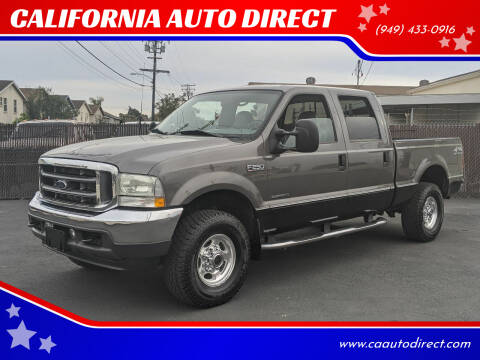 2002 Ford F-250 Super Duty for sale at CALIFORNIA AUTO DIRECT in Costa Mesa CA