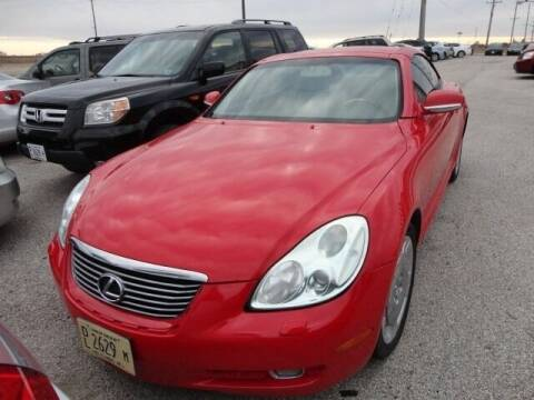 2002 Lexus SC 430 for sale at Carz R Us 1 Heyworth IL in Heyworth IL