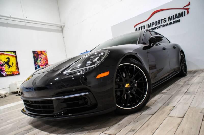 2017 Porsche Panamera for sale at AUTO IMPORTS MIAMI in Fort Lauderdale FL