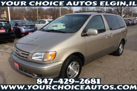 2002 Toyota Sienna for sale at Your Choice Autos - Elgin in Elgin IL