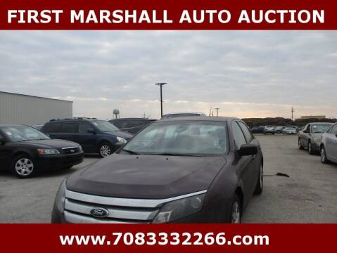 2012 Ford Fusion for sale at First Marshall Auto Auction in Harvey IL