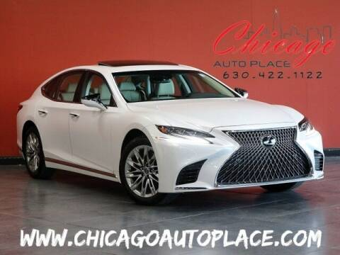 2018 Lexus LS 500 for sale at Chicago Auto Place in Bensenville IL