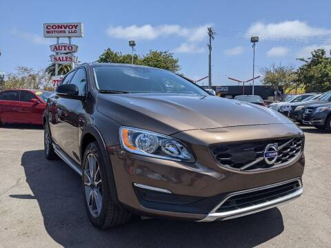 2018 Volvo V60 Cross Country for sale at Convoy Motors LLC in National City CA