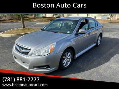 2010 Subaru Legacy for sale at Boston Auto Cars in Dedham MA