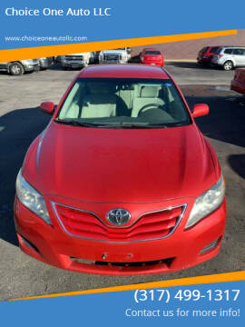 2010 Toyota Camry for sale at Choice One Auto LLC in Beech Grove IN