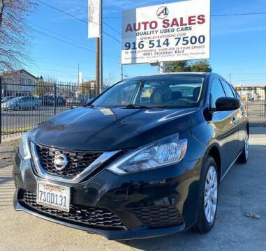 2016 Nissan Sentra for sale at A1 Auto Sales in Sacramento CA