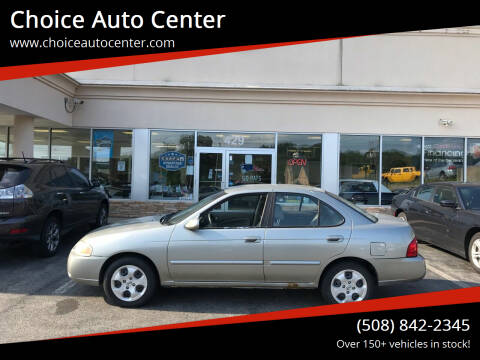 2004 Nissan Sentra for sale at Choice Auto Center in Shrewsbury MA