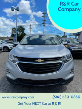 2020 Chevrolet Equinox for sale at R&R Car Company in Mount Clemens MI