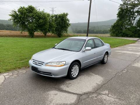 2001 Honda Accord for sale at Tennessee Valley Wholesale Autos LLC in Huntsville AL