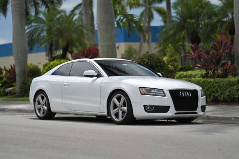 2010 Audi A5 for sale at EURO STABLE in Miami FL