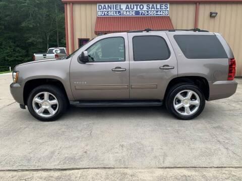 2011 Chevrolet Tahoe for sale at Daniel Used Auto Sales in Dallas GA