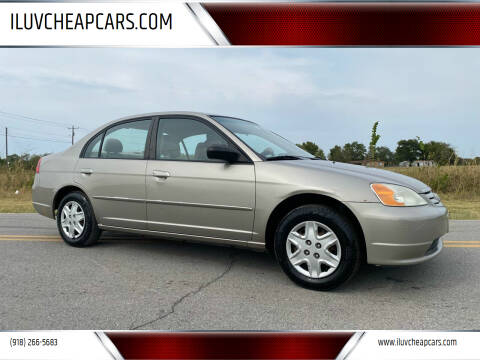 2003 Honda Civic for sale at ILUVCHEAPCARS.COM in Tulsa OK