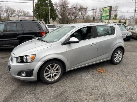 2012 Chevrolet Sonic for sale at Affordable Auto Detailing & Sales in Neptune NJ