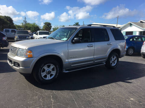 2002 Ford Explorer for sale at CAR-RIGHT AUTO SALES INC in Naples FL