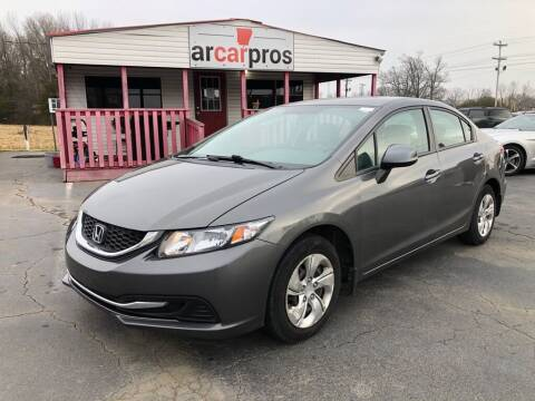 2013 Honda Civic for sale at Arkansas Car Pros in Cabot AR