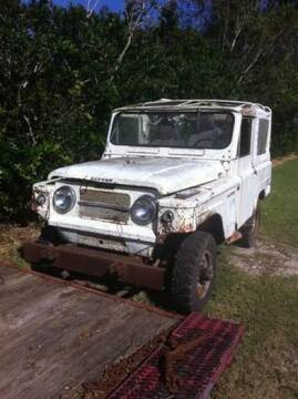 1967 Nissan Patrol for sale at Haggle Me Classics in Hobart IN